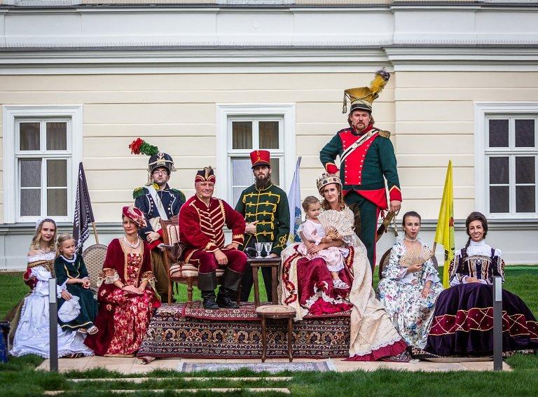Večer Royal Night v štýle rakúsko-uhorskej monarchie