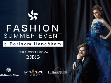 Fashion Summer Event s Borisom Hanečkom
