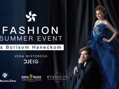 Fashion Summer Event s Borisom Hanečkom